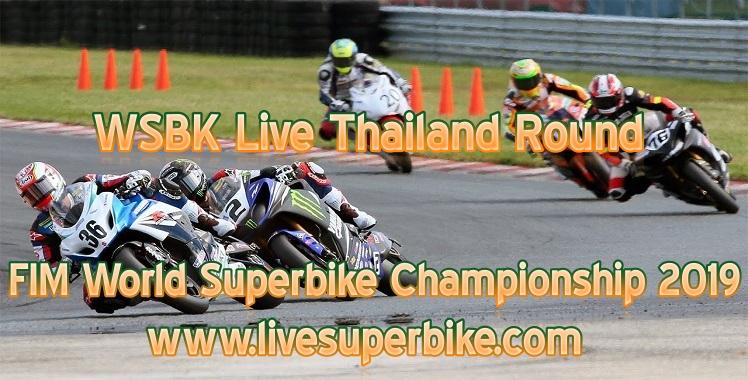 WSBK Live Thailand Round