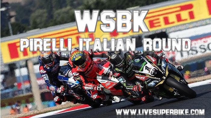 Pirelli Italian Round SBK Live Stream