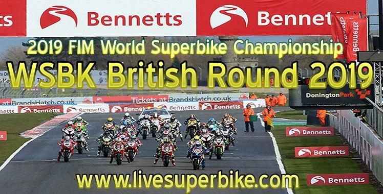 WSBK British Round Live Stream