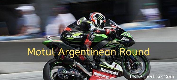 Motul Argentinean Round Live Stream
