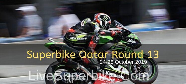 2018 Superbike Pirelli Qatar Round 13 Live