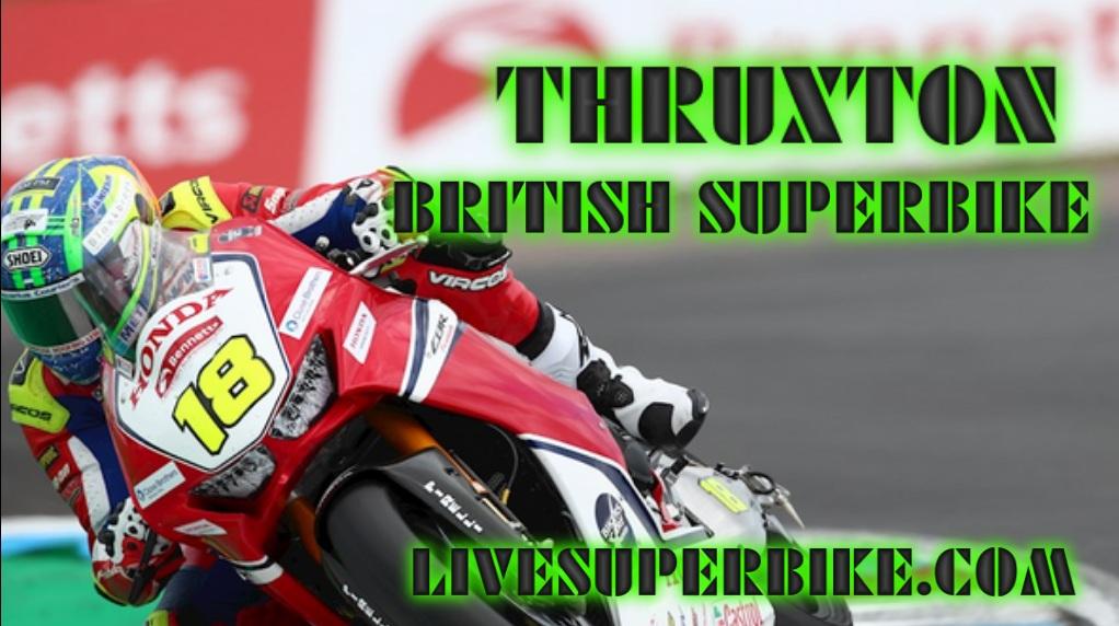 Live Thruxton Superbike Online