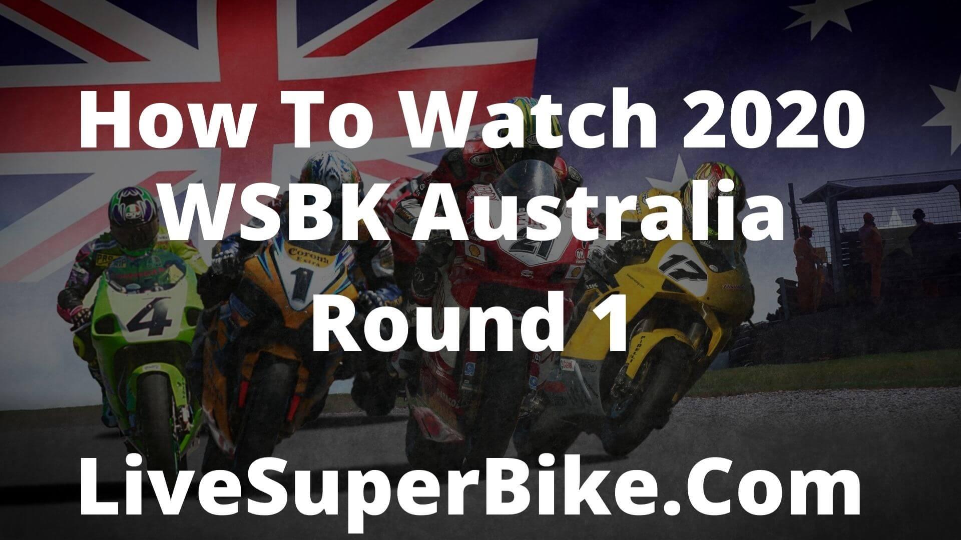 Watch 2015 WSBK Australia Round 1 Online