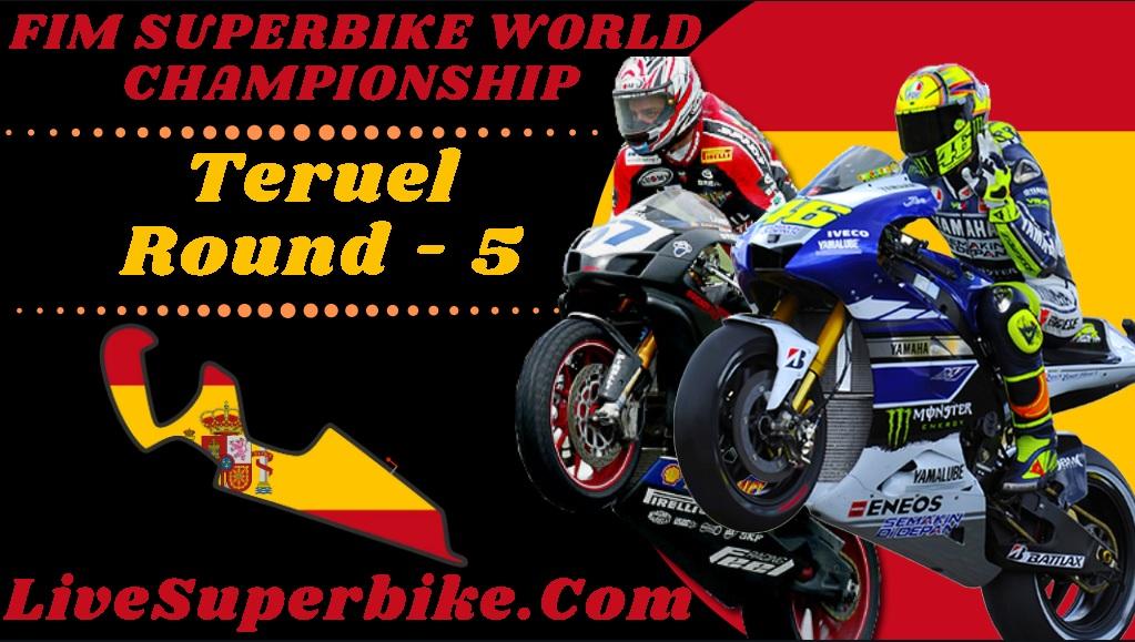 Pirelli Teruel Round 5 SBK Live Stream