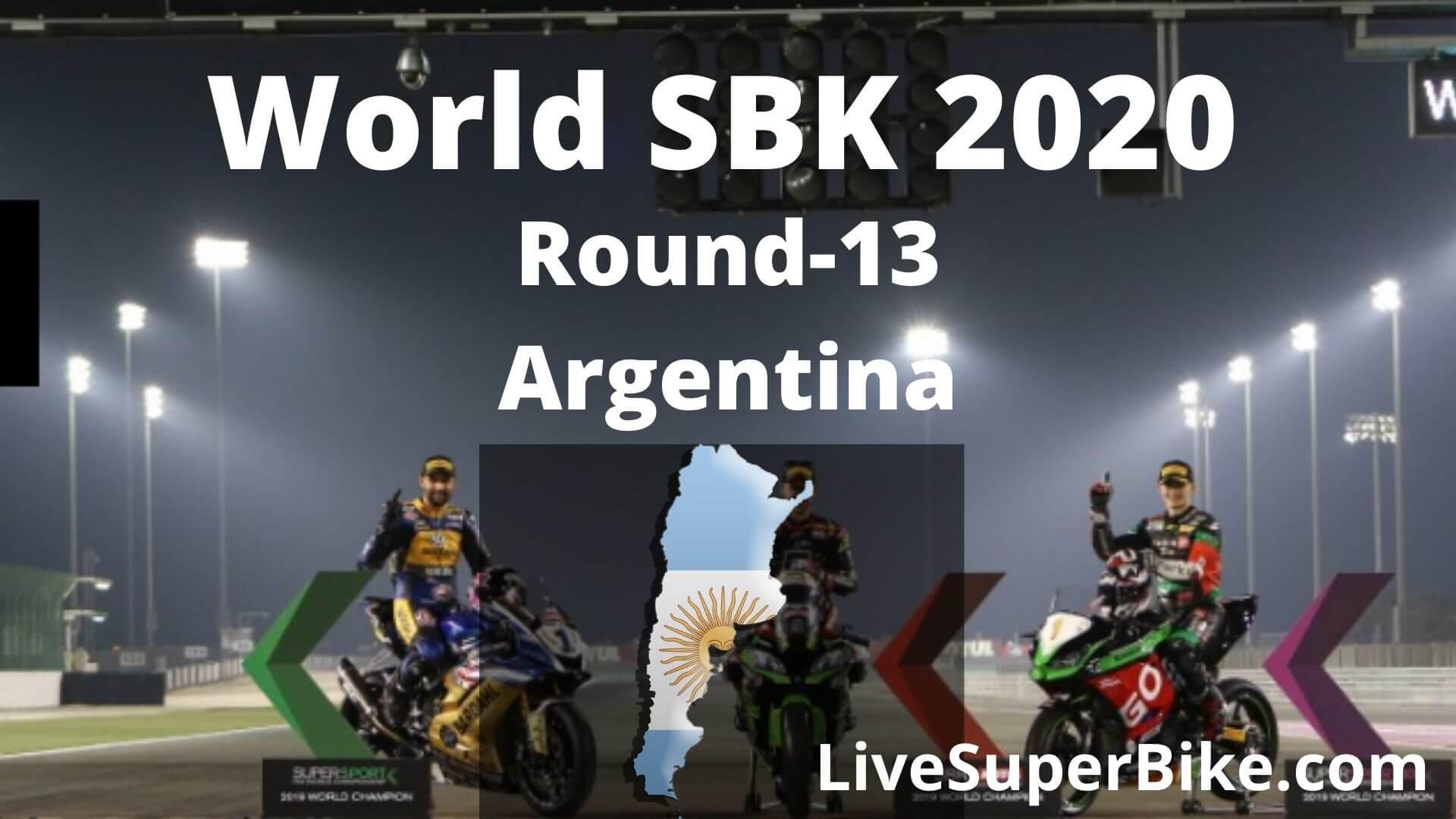 Argentina Super Bike Live Stream 2020   Round 13
