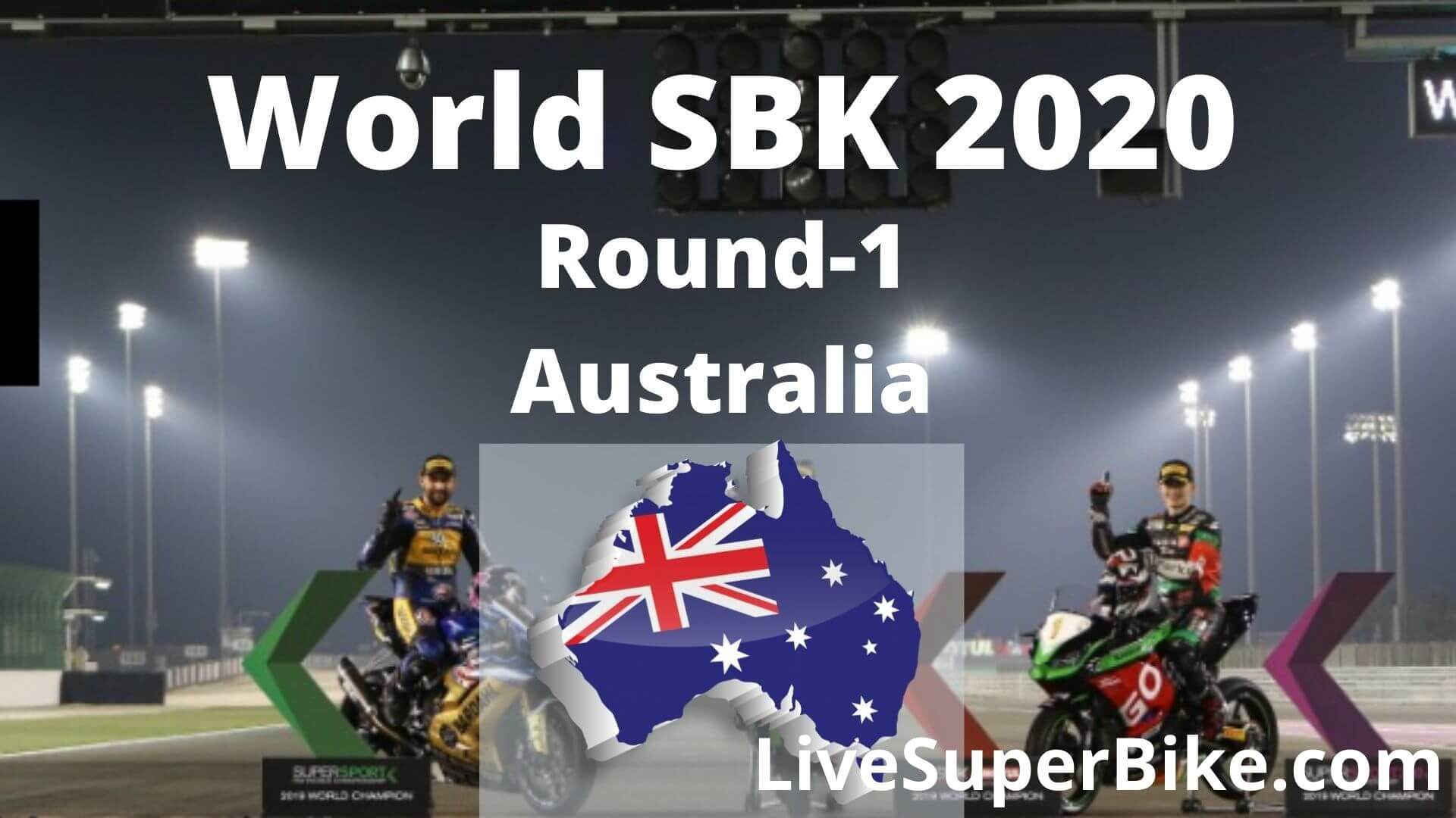 Australian Super Bike Live Stream 2020   Round 1