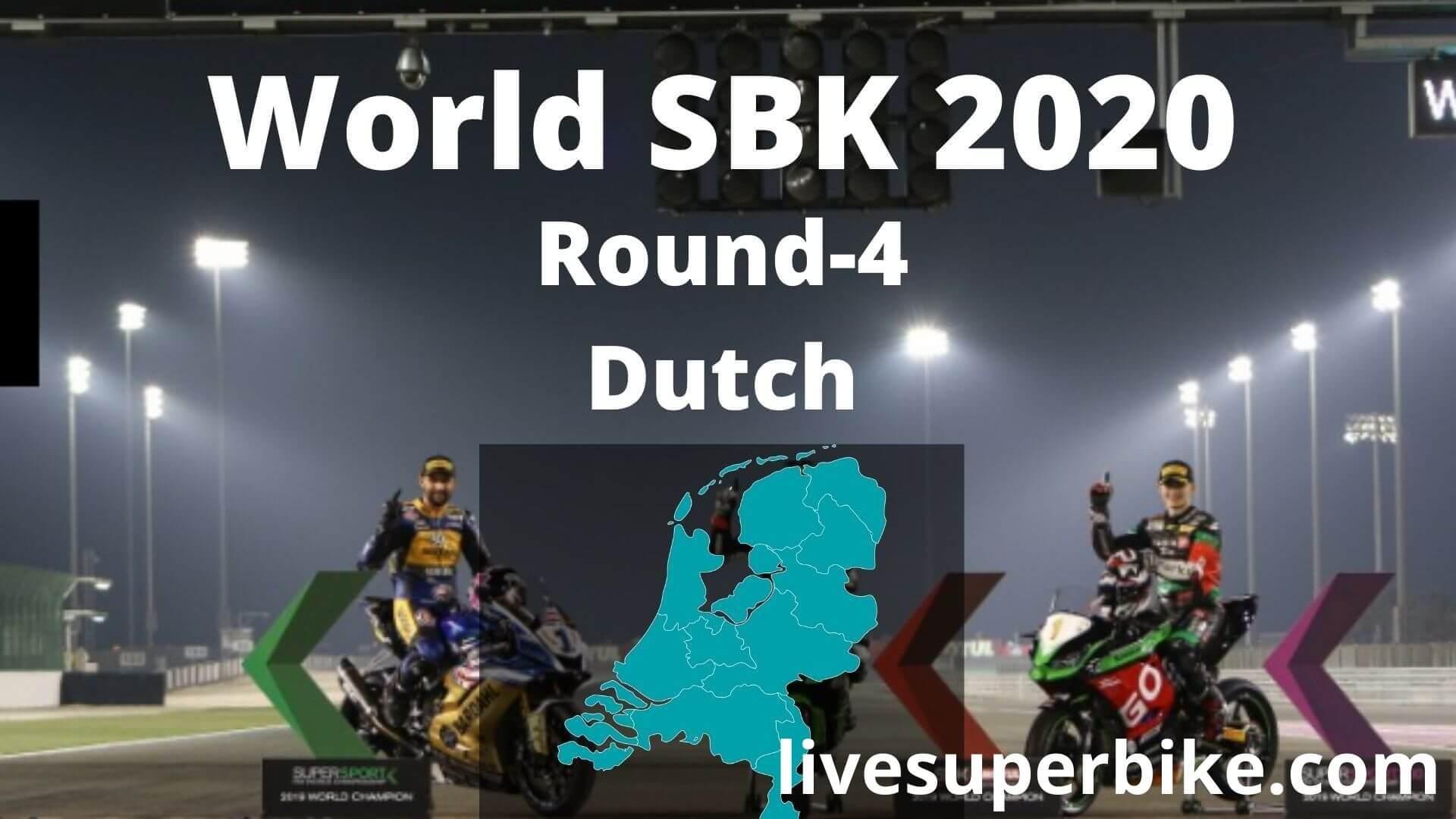 Dutch Super Bike Live Stream 2020   Round 4