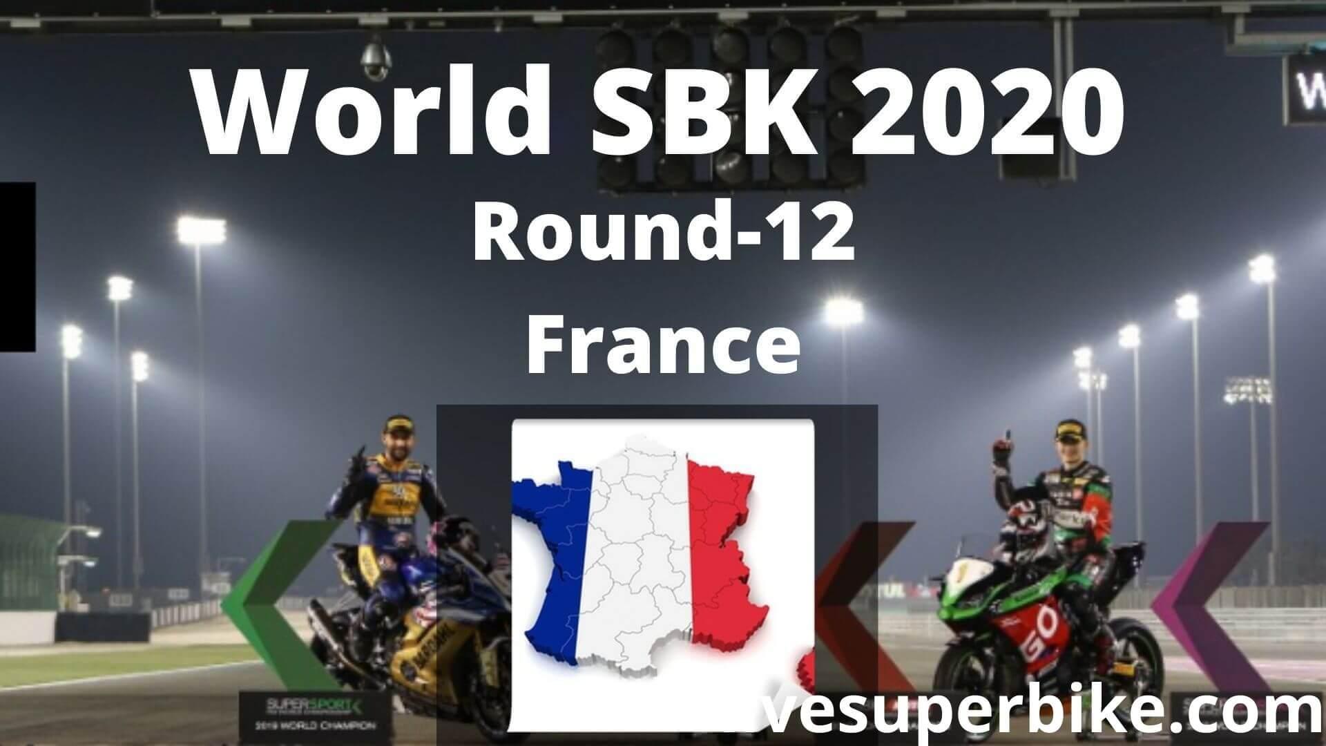 France Super Bike Live Stream 2020   Round 12