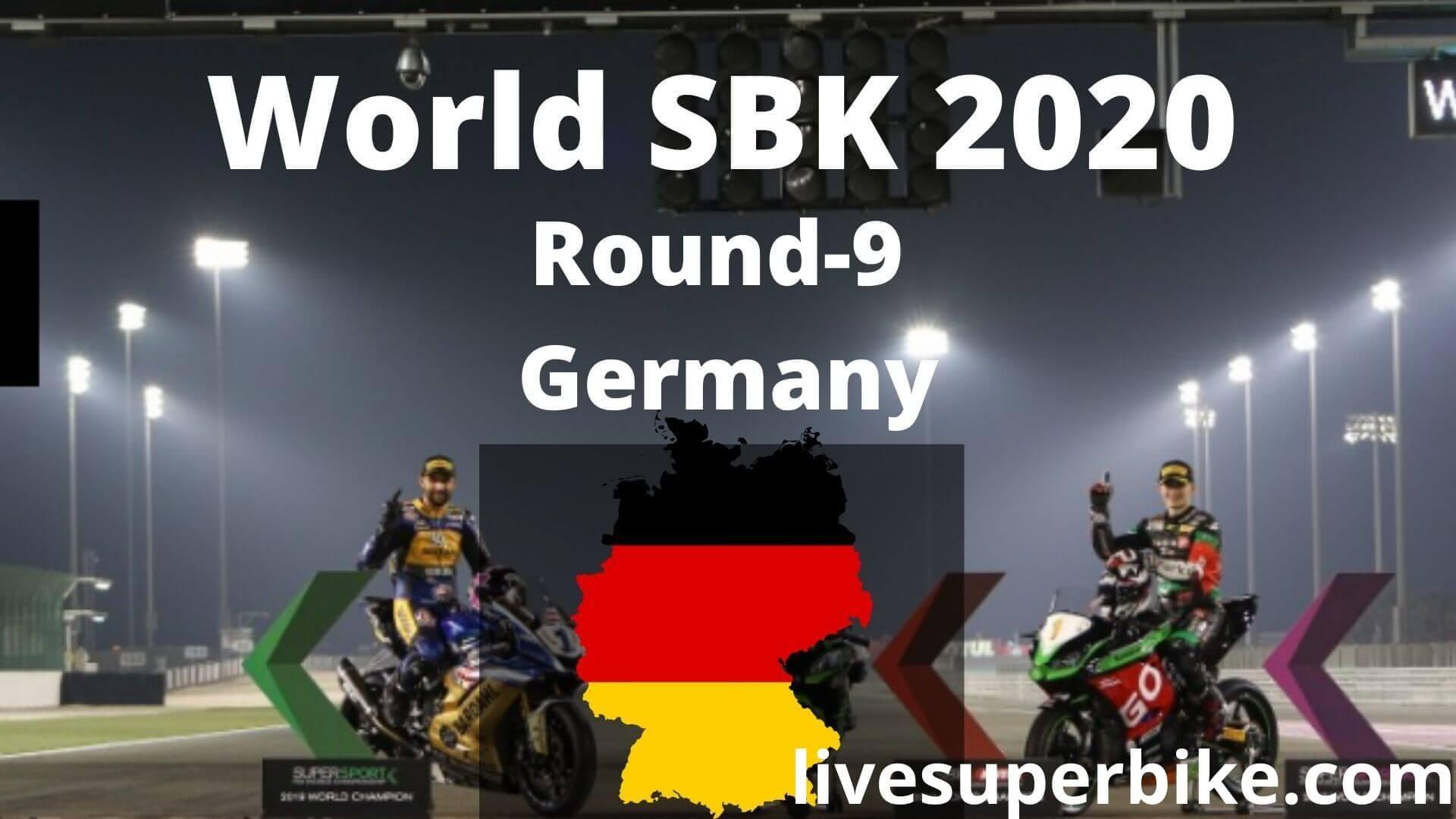 German Super Bike Live Stream 2020   Round 9