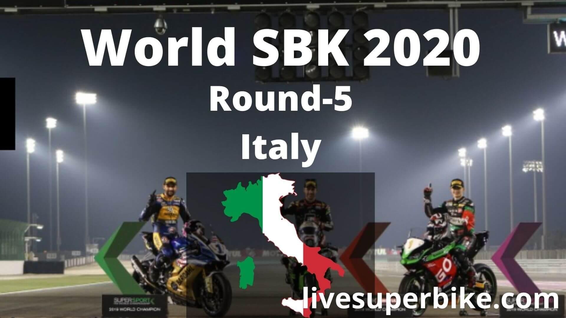 Italian Super Bike Live Stream 2020   Round 5