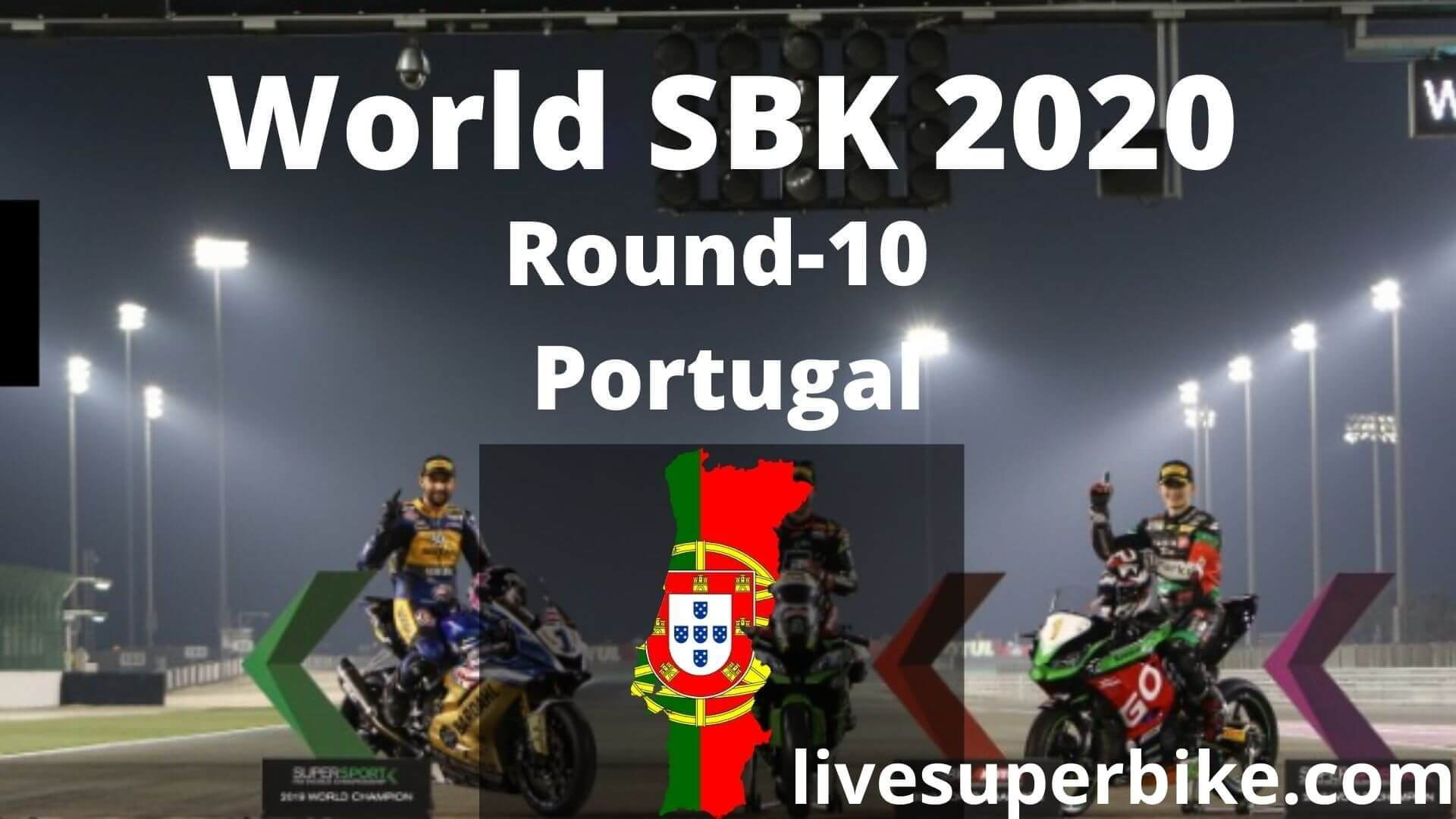 Portugal Super Bike Live Stream 2020   Round 10