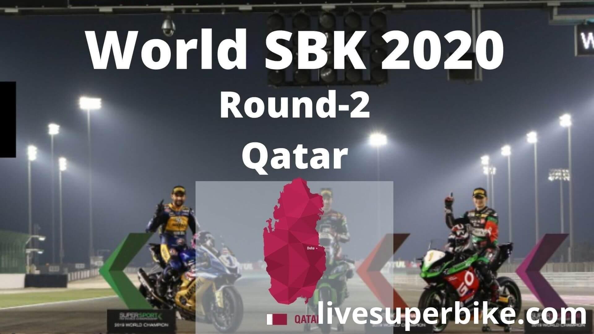 Superbike Qatar Race 2 Live Stream 2020