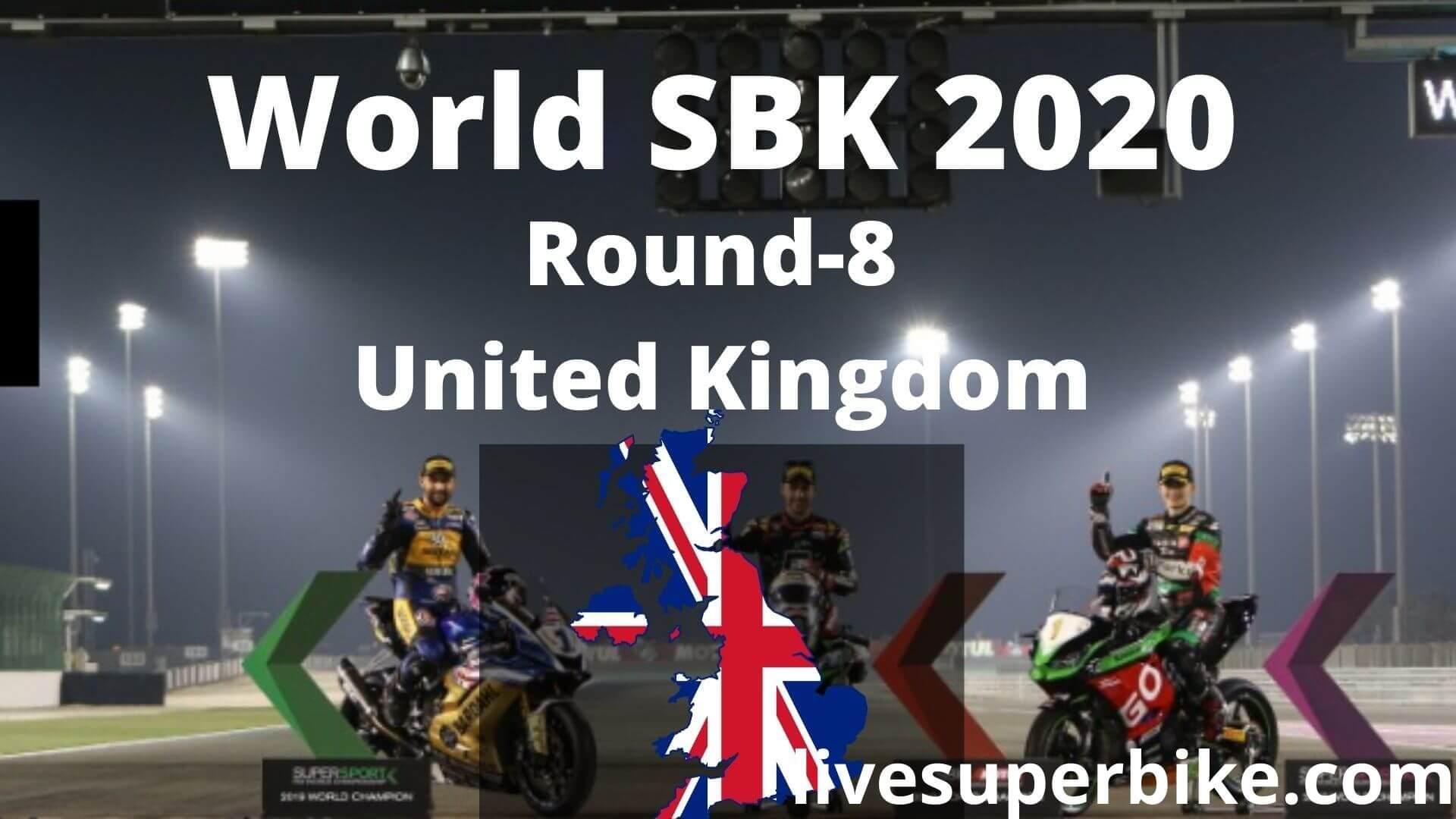 United Kingdom Super Bike Live Stream 2020   Round 8