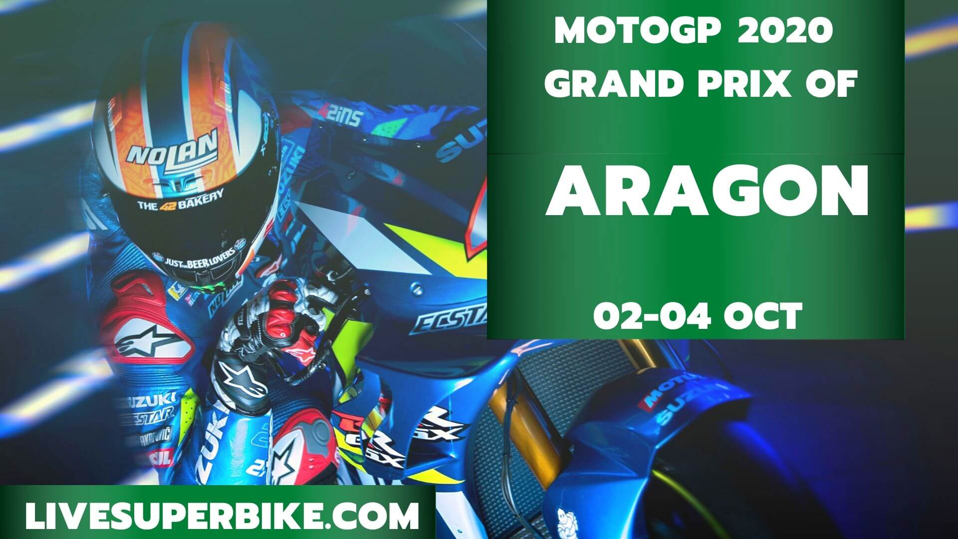 Aragon MotoGP Live Stream 2020 | Full Race Replay
