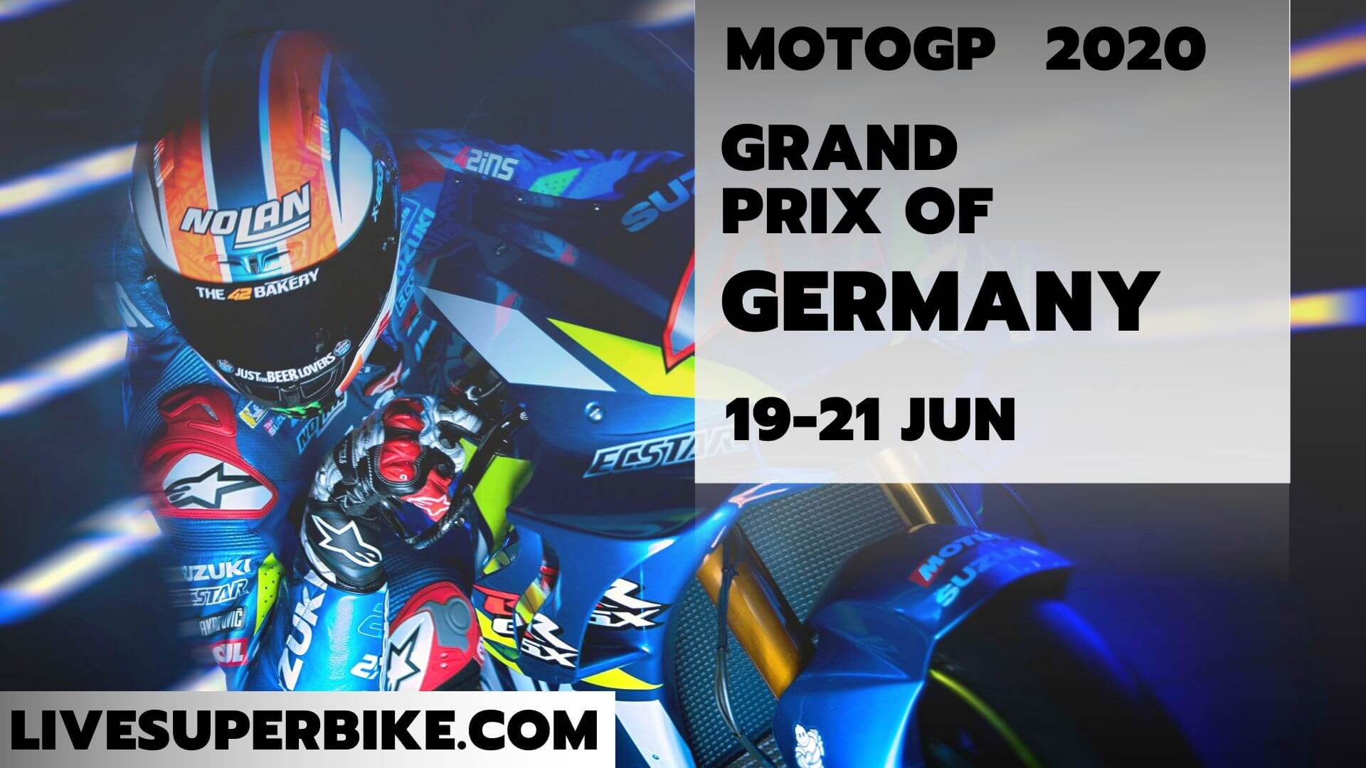 Germany MotoGP Live Stream 2020 | Full Race Replay