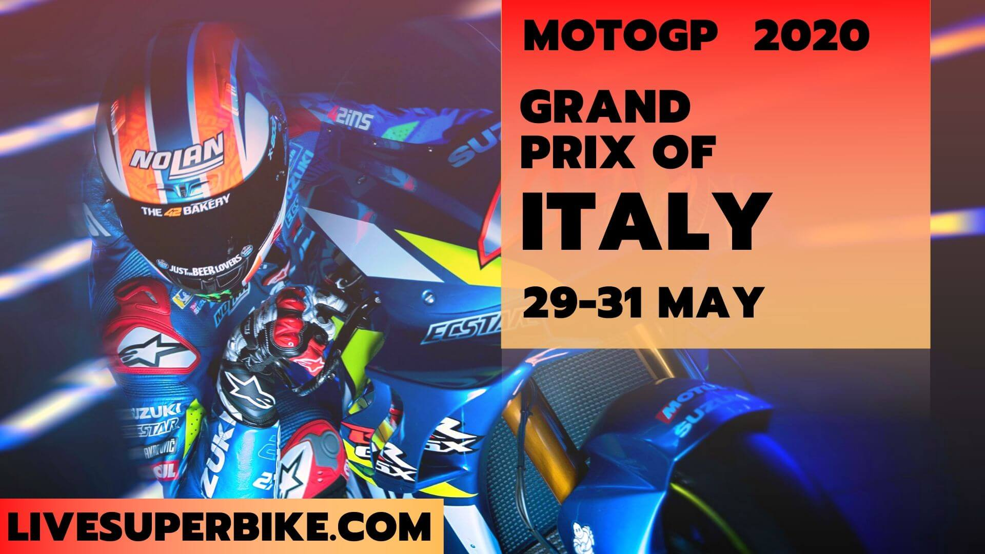 Italy MotoGP Live Stream 2020 | Full Race Replay