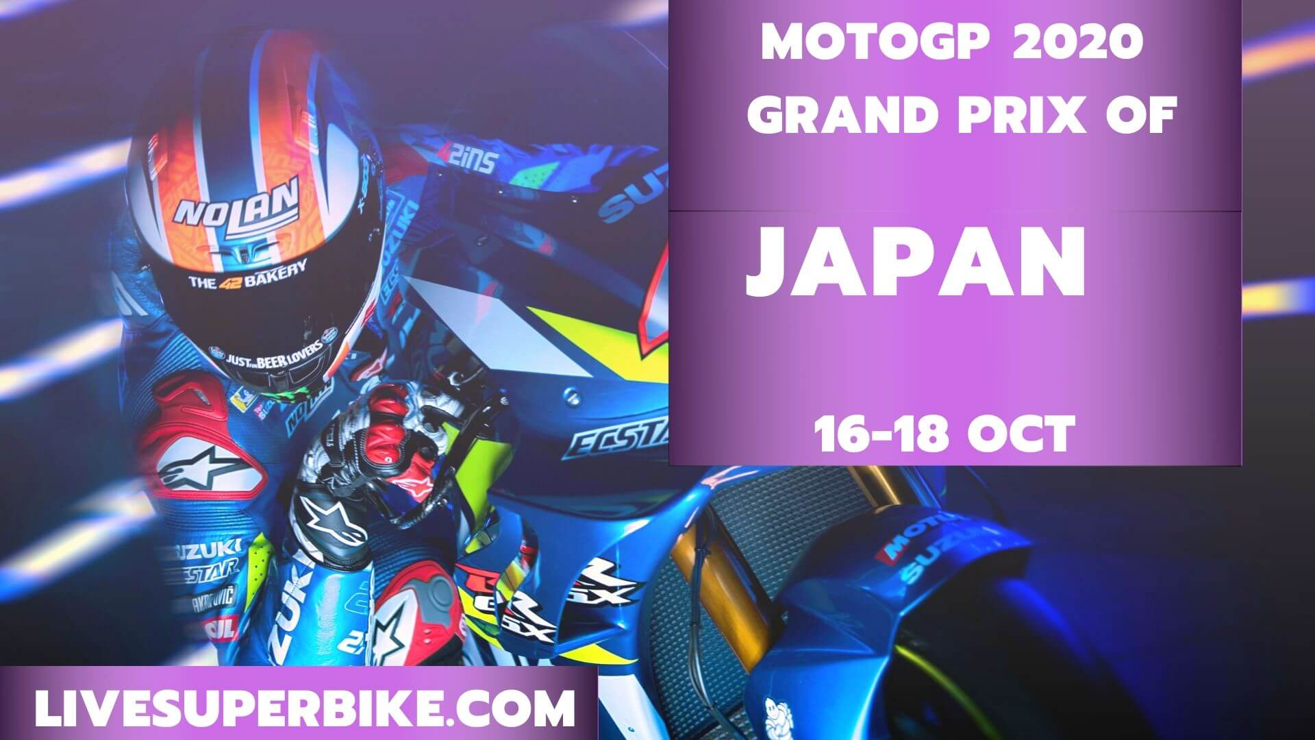 Japan MotoGP Live Stream 2020 | Full Race Replay
