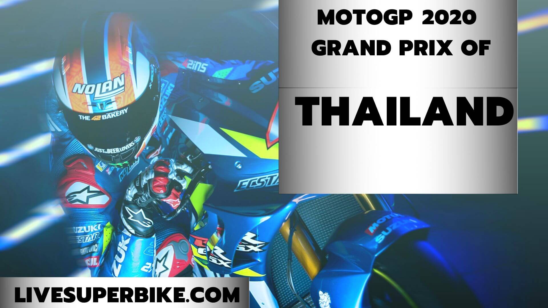 Thailand MotoGP Race Postponed 2020 | Full Race Replay