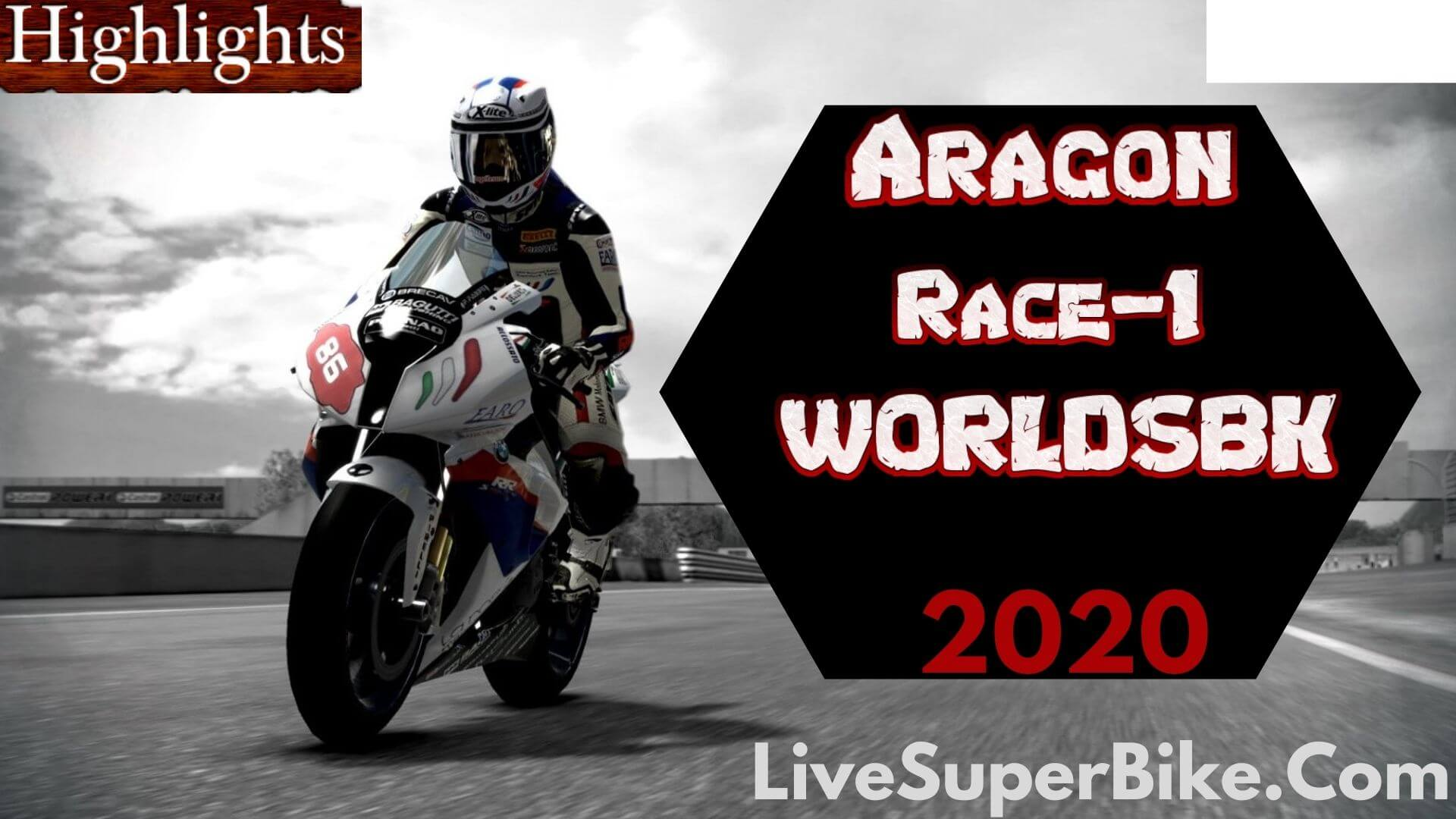 Aragon WorldSBK Race 1 Highlights 2020