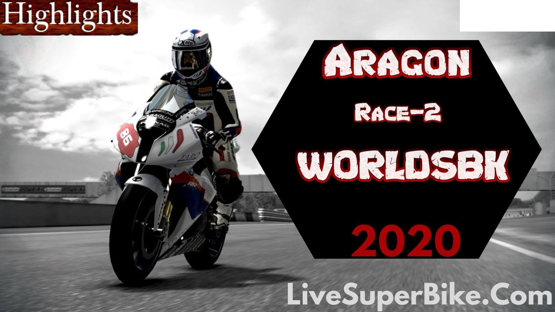 Aragon WorldSBK Race 2 Highlights 2020