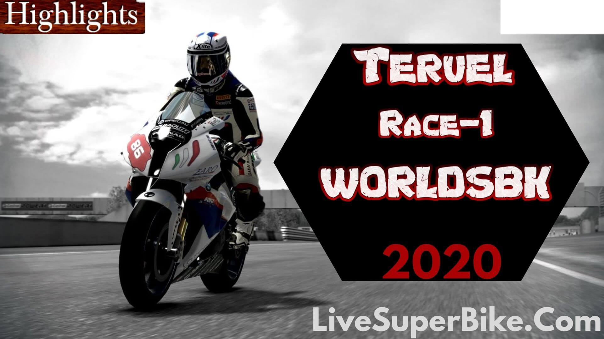 Teruel WorldSBK Race 1 Highlights 2020