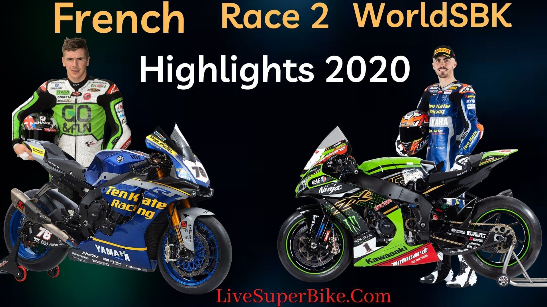 French WorldSBK Race 2 Highlights 2020