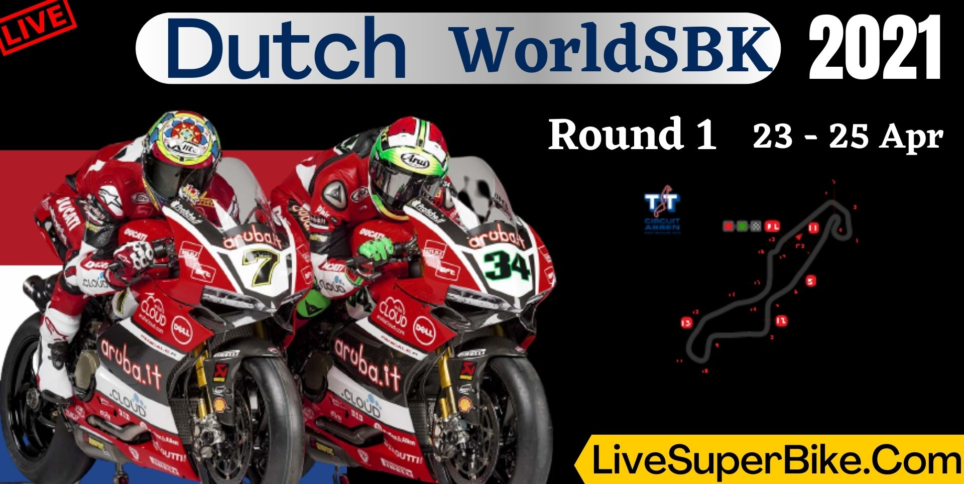 Dutch Round 1 Live Stream 2021 | WorldSBK