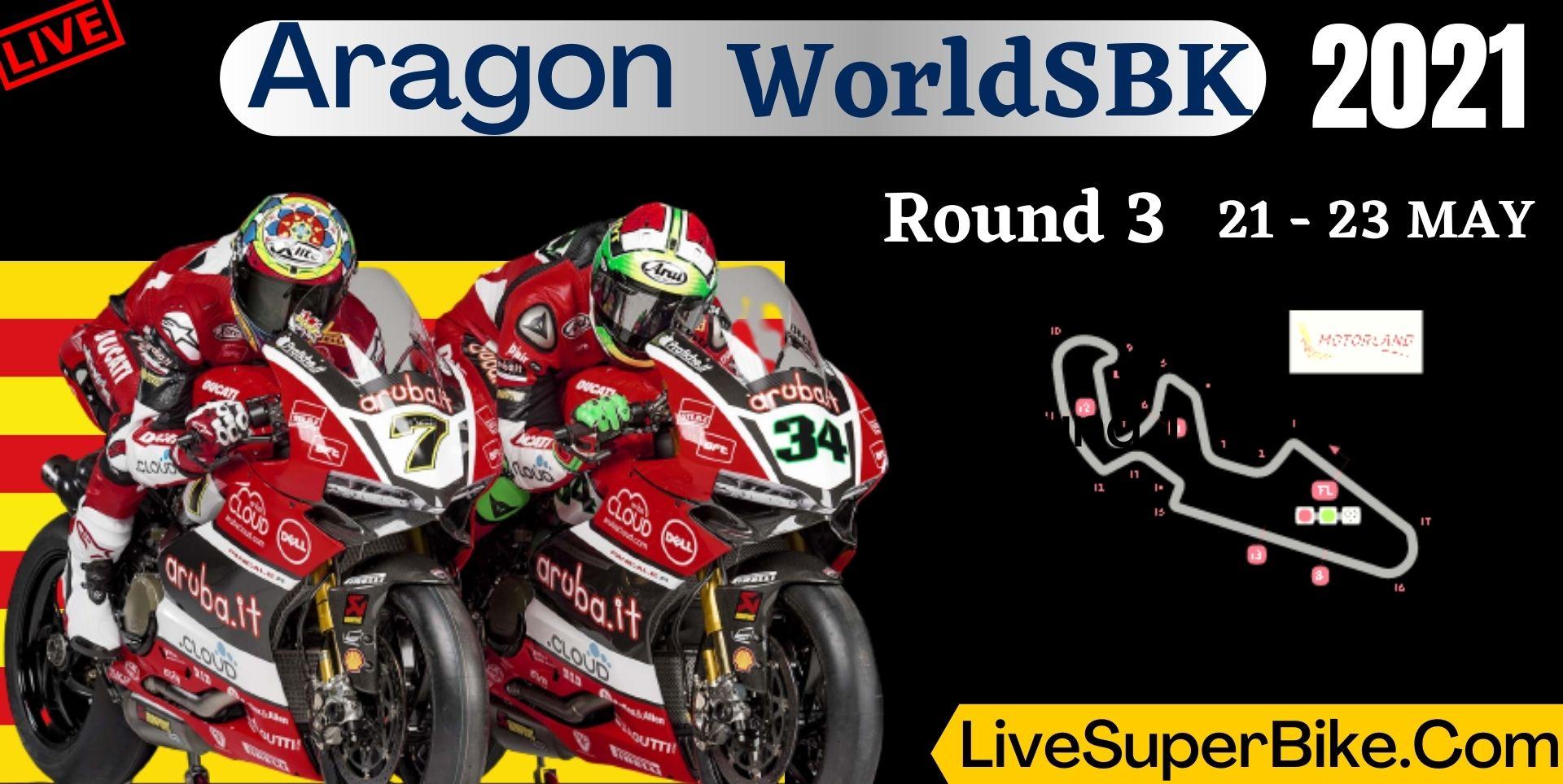 Aragon Round 3 Live Stream 2021 | WorldSBK