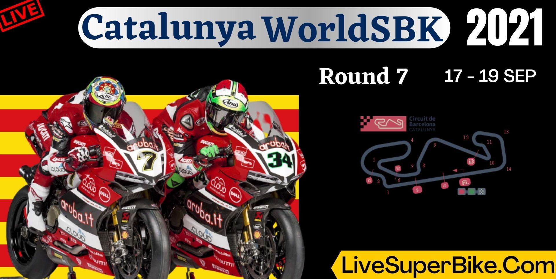 Catalunya Round 7 Live Stream 2021 | WorldSBK