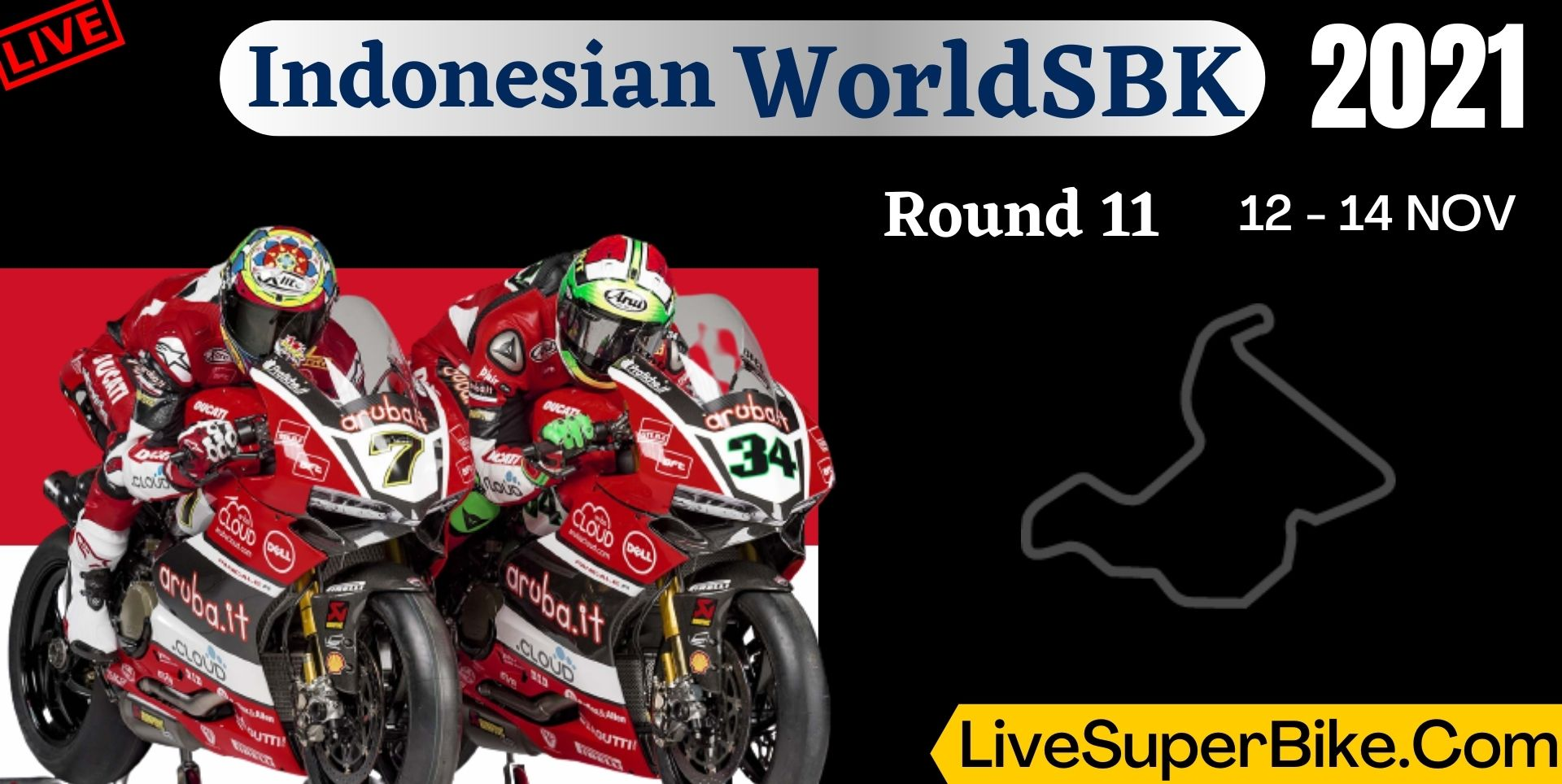 Indonesian Round 11 Live Stream 2021 | WorldSBK