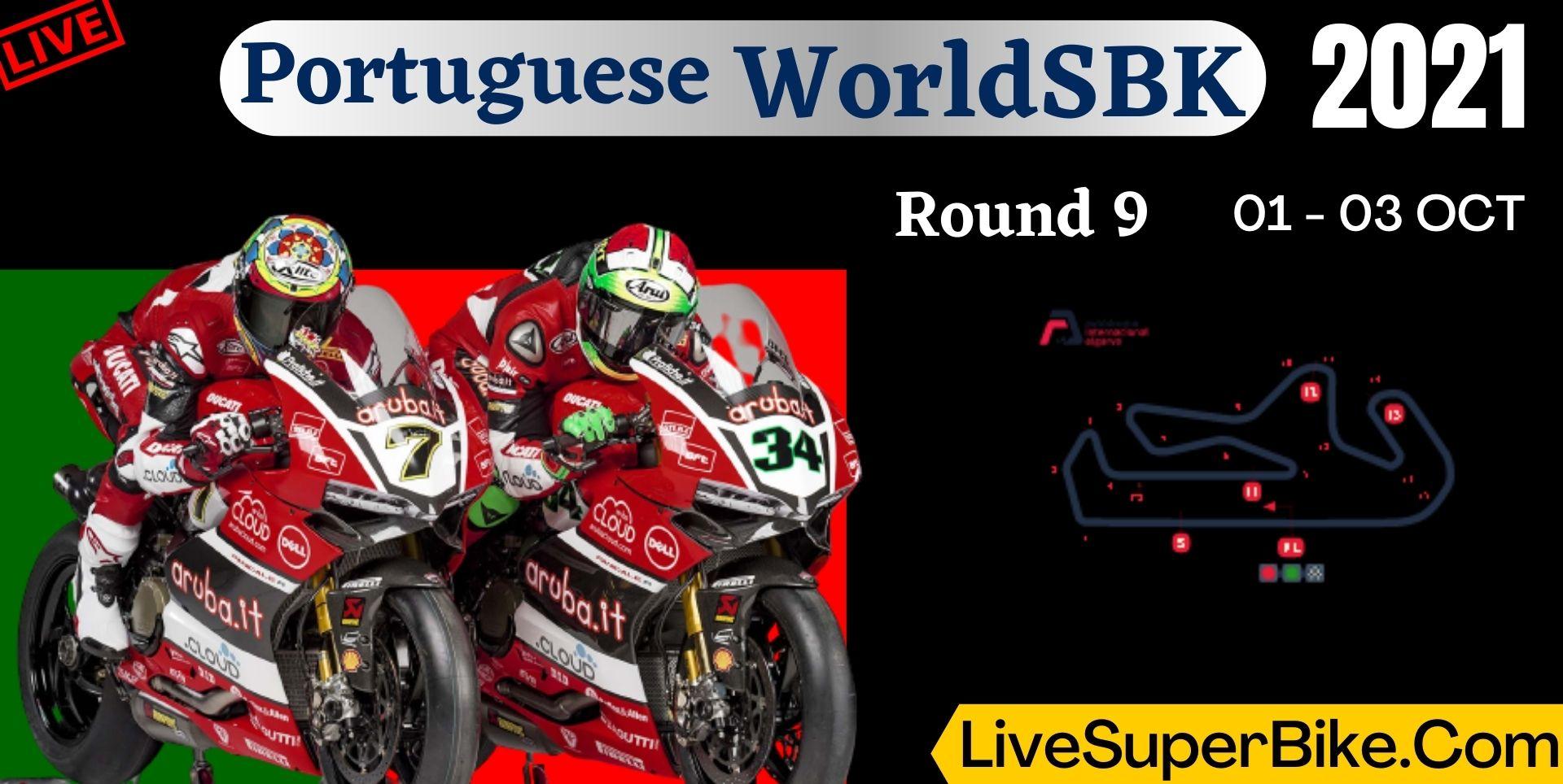 Portuguese Round 9 Live Stream 2021 | WorldSBK