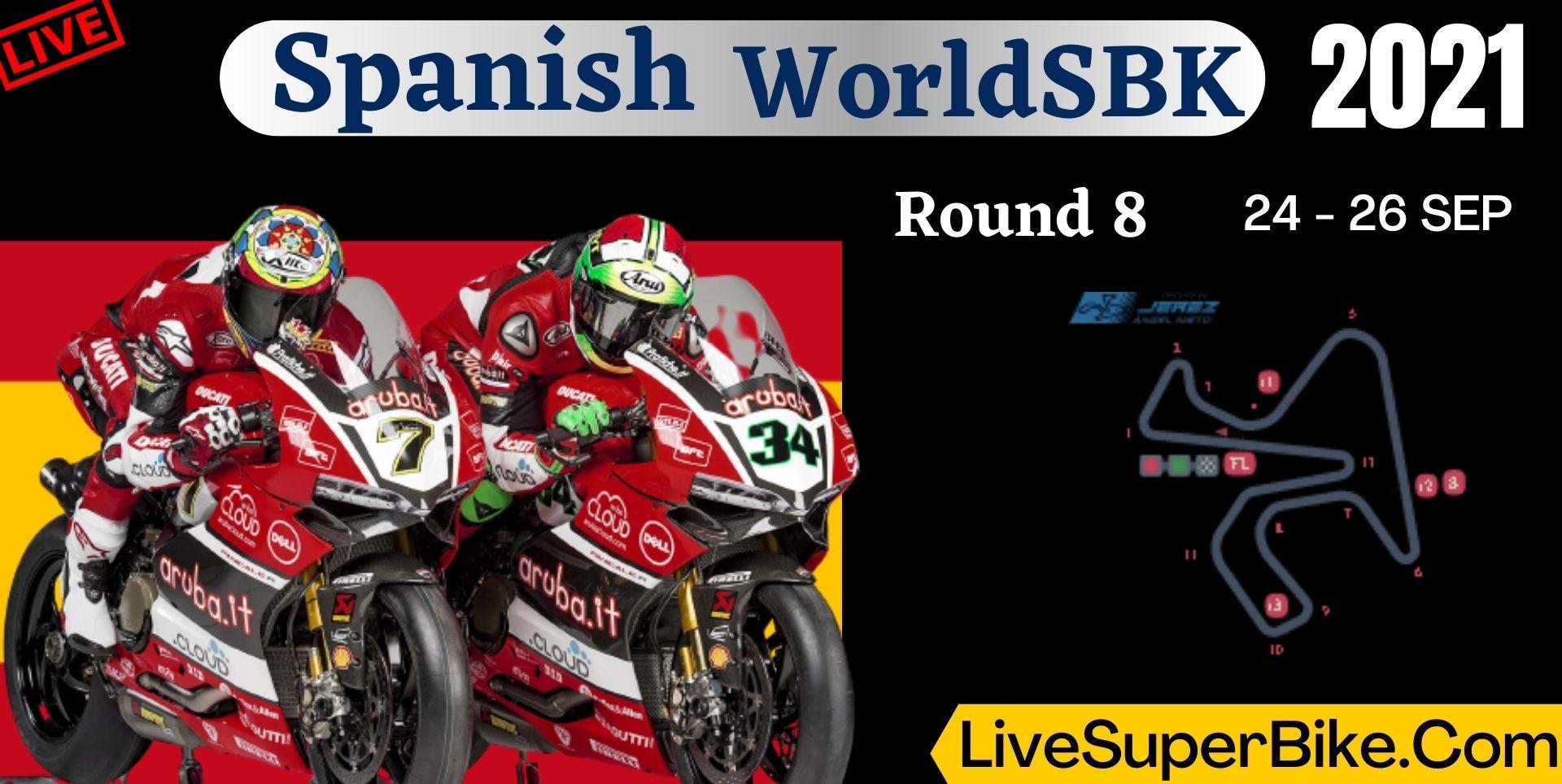Spanish Round 8 Live Stream 2021 | WorldSBK