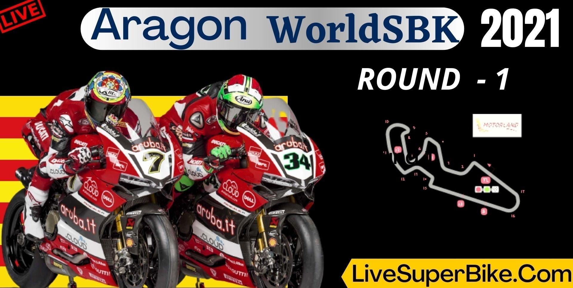 Aragon Round 1 Live Stream 2021 | WorldSBK