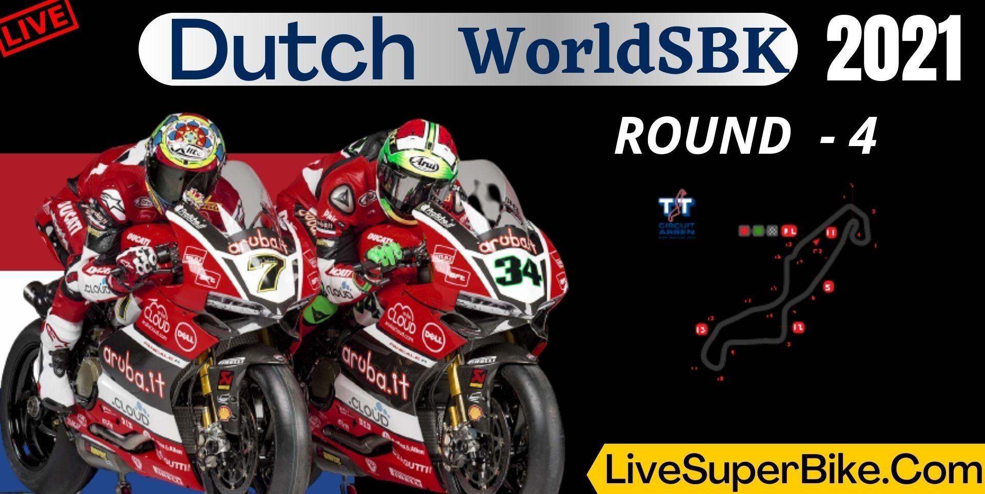 Dutch Round 4 Live Stream 2021 | WorldSBK