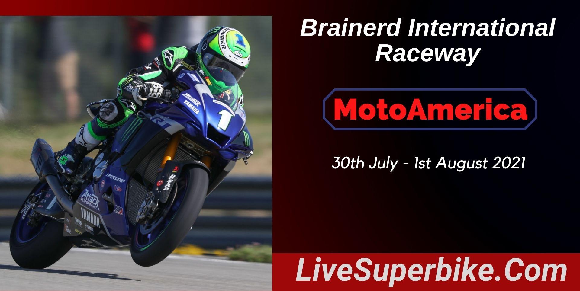 MotoAmerica At Brainerd Live Stream 2021