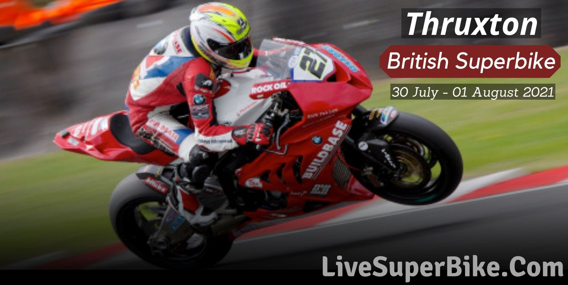 Thruxton British Superbike Live Stream 2021