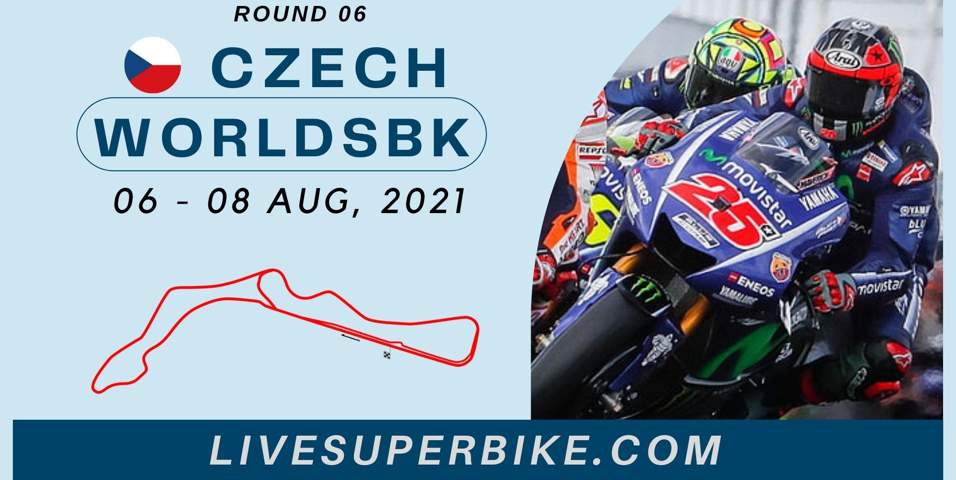 Czech Round 6 Live Stream 2021 | WorldSBK