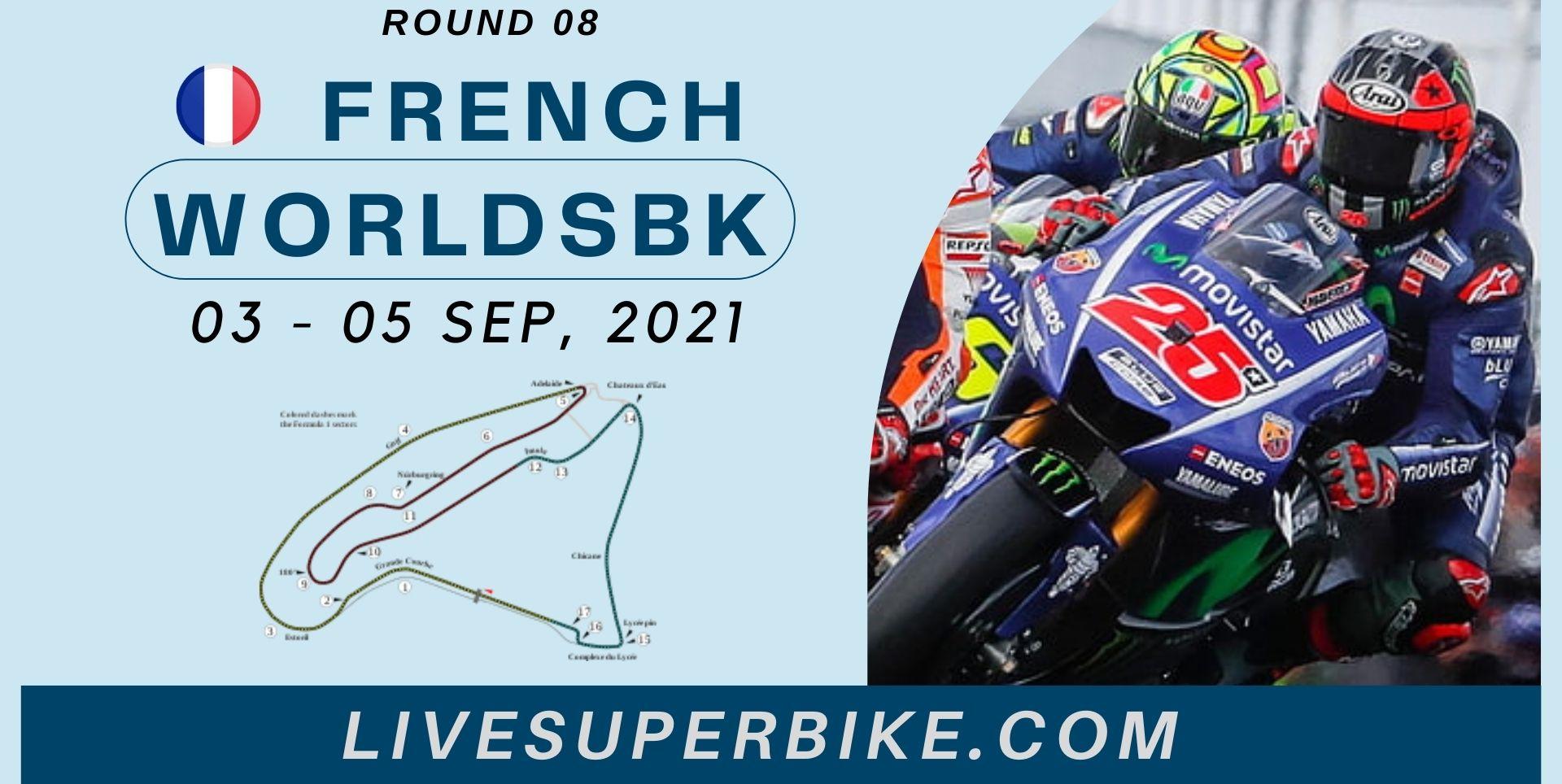 French Round 8 Live Stream 2021 | WorldSBK