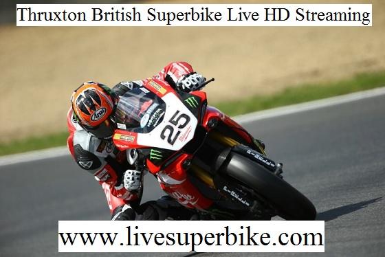 Thruxton Superbike Live